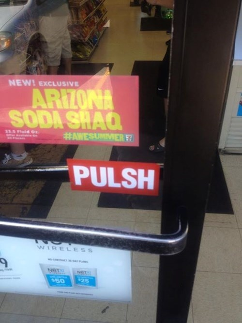 door sign push funny - 7628853248