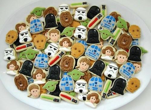 star wars,cookies,DIY,noms