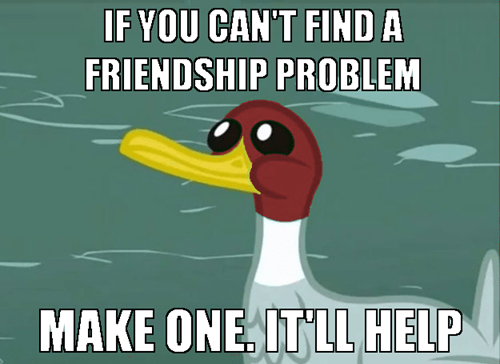friendship,malicious advice duck,Memes