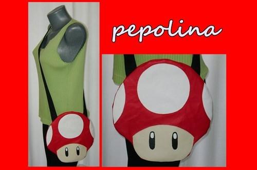 bags for sale Super Mario bros Mushrooms - 7628957184