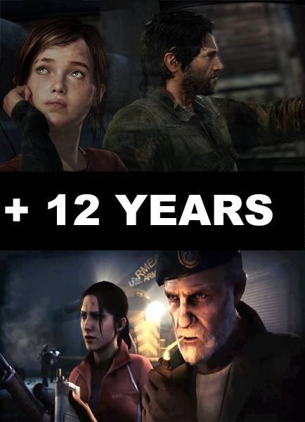 Left 4 Dead,the last of us