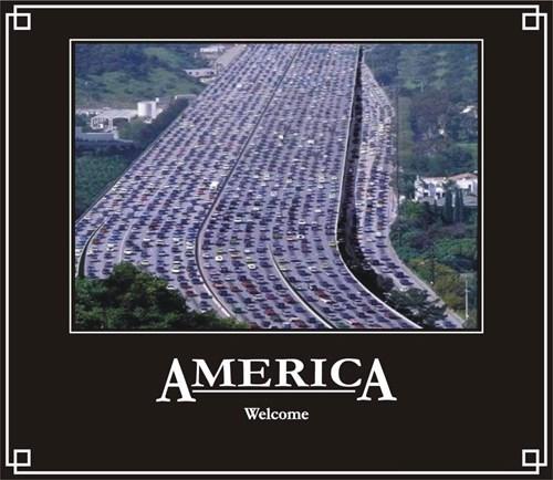 america funny traffic - 7629360640