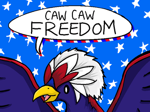 freedom,Pokémon,fourth of july,america,Braviary