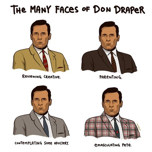 don draper john hamm TV mad men - 7629507840