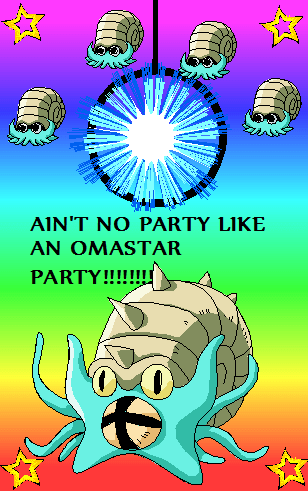 'Cause an Omastar party doesn't Stop!