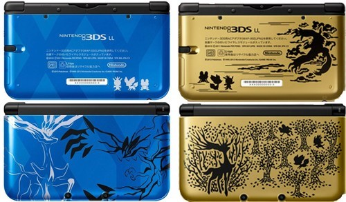3DS,pokemon x/y,nintendo