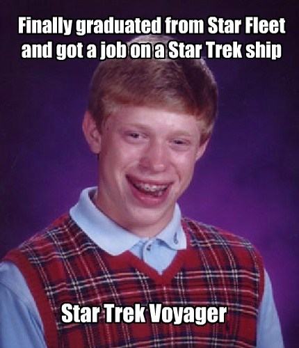 scifi bad luck brian Star Trek - 7630787584