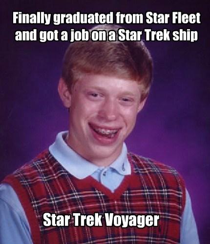 scifi bad luck brian Star Trek - 7630787584
