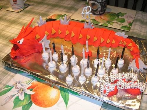 gyarados cake IRL - 7631182848