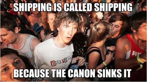 shipping,fandom problems,sudden clarity clarence