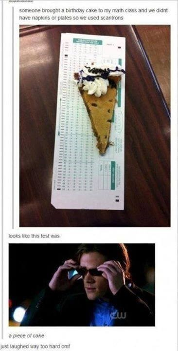 cake puns scantrons funny - 7631802368
