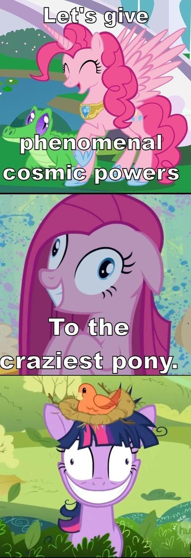 crazy twilight sparkle pinkie pie - 7631810816