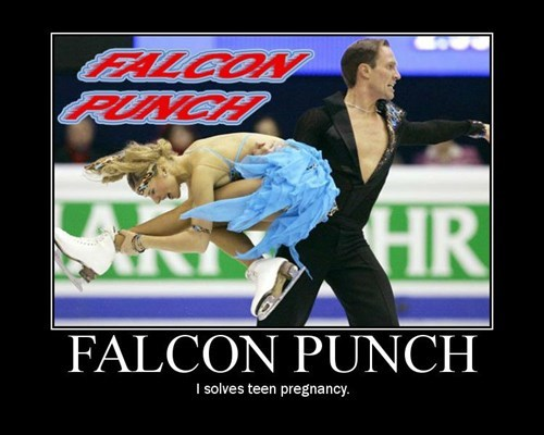 teen pregnancy falcon punch funny - 7632214528