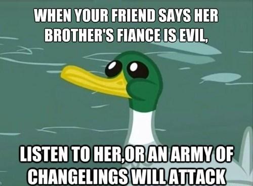 friendly advice duck Memes - 7632762880