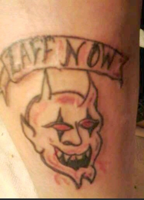 bad devils tattoos funny g rated Ugliest Tattoos - 7632937728
