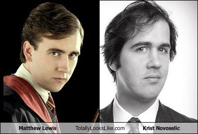 Krist Novoselic,totally looks like,Matthew Lewis,funny