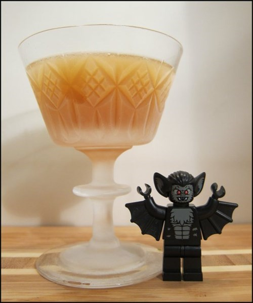 manhattan,lego,bat monster,funny,cocktail