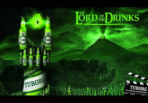 beer,Lord of the Rings,ads,funny