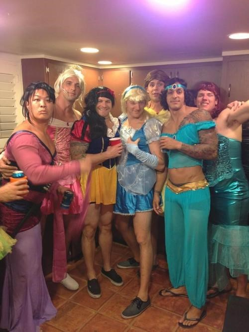 disney,disney princesses,costume,cross dressing,funny