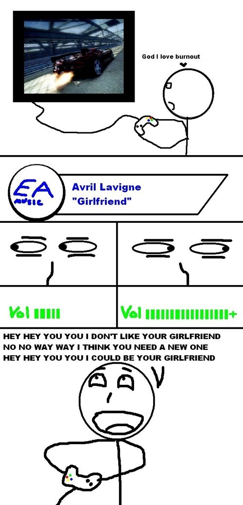 avril lavigne,EA,girlfriend