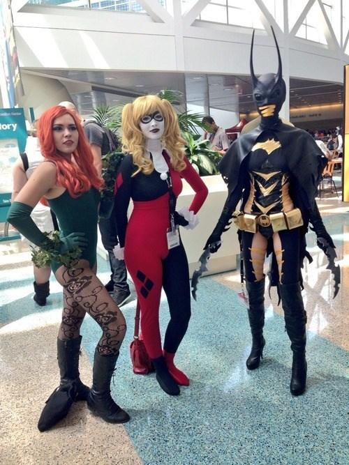 DC batgirl superheroes batman Harley Quinn poison ivy - 7634676480