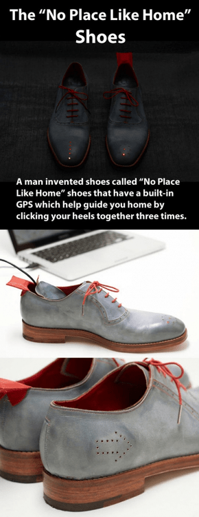gps shoes no place like home funny poorly dressed g rated - 7634691584
