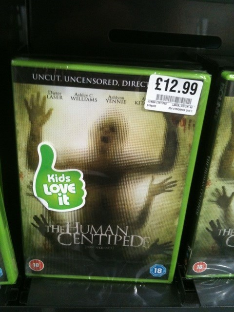 not for kids bad idea funny human centipede parenting