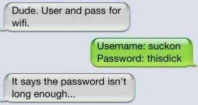 usernames passwords funny - 7634814464