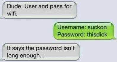 usernames passwords funny - 7634814464