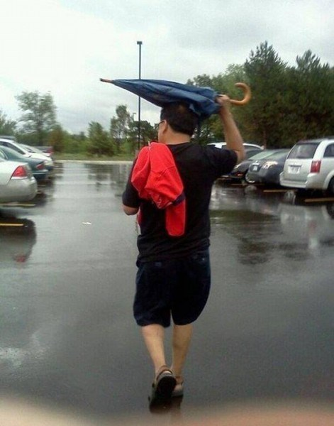 umbrella genius funny