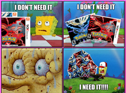 i need it SpongeBob SquarePants pokemon x/y - 7634907392