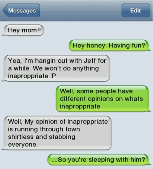 subjectivity inappropriate funny parents