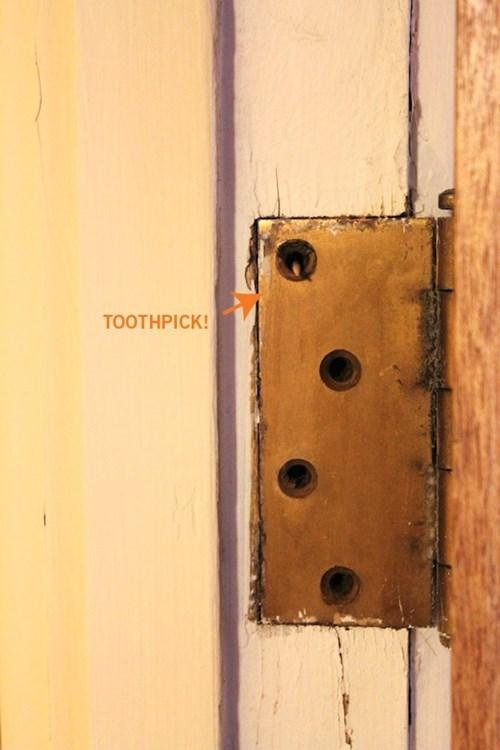 doors,funny,toothpicks