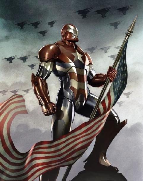 art iron patriot funny - 7635072256