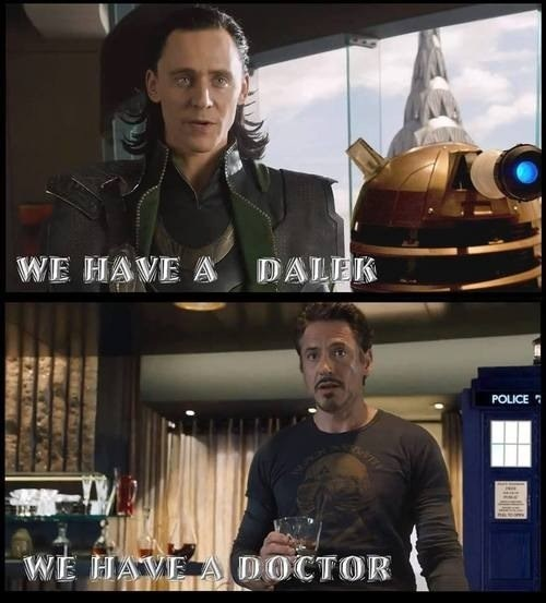 The Avengers,daleks,doctor who