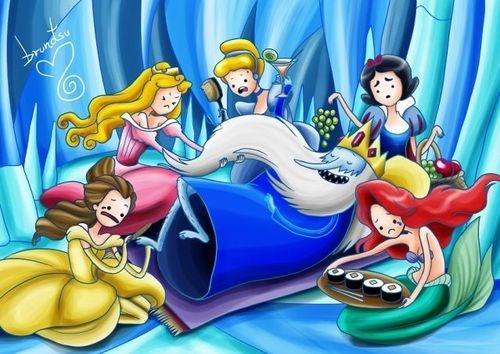 crossover,disney,disney princesses,Fan Art,ice king,adventure time