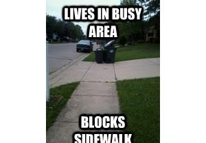 Scumbag Neighbor