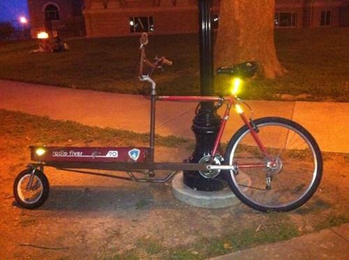 frankenstein bikes red wagons funny - 7635894784