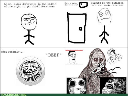 scary,smoke detector