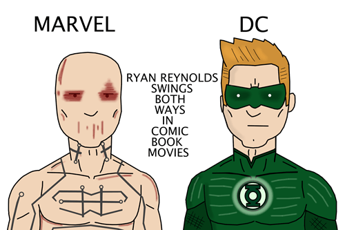 marvel DC movies ryan reynolds funny - 7636877824