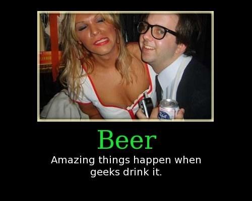 Sexy Ladies beer nerds funny - 7636998912