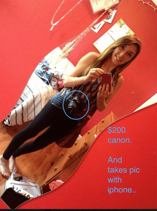 selfie canon camera - 7637042944