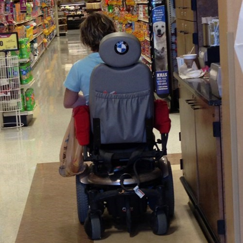 wheelchairs funny bmw