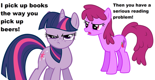 drinking,twilight sparkle,berry punch,books