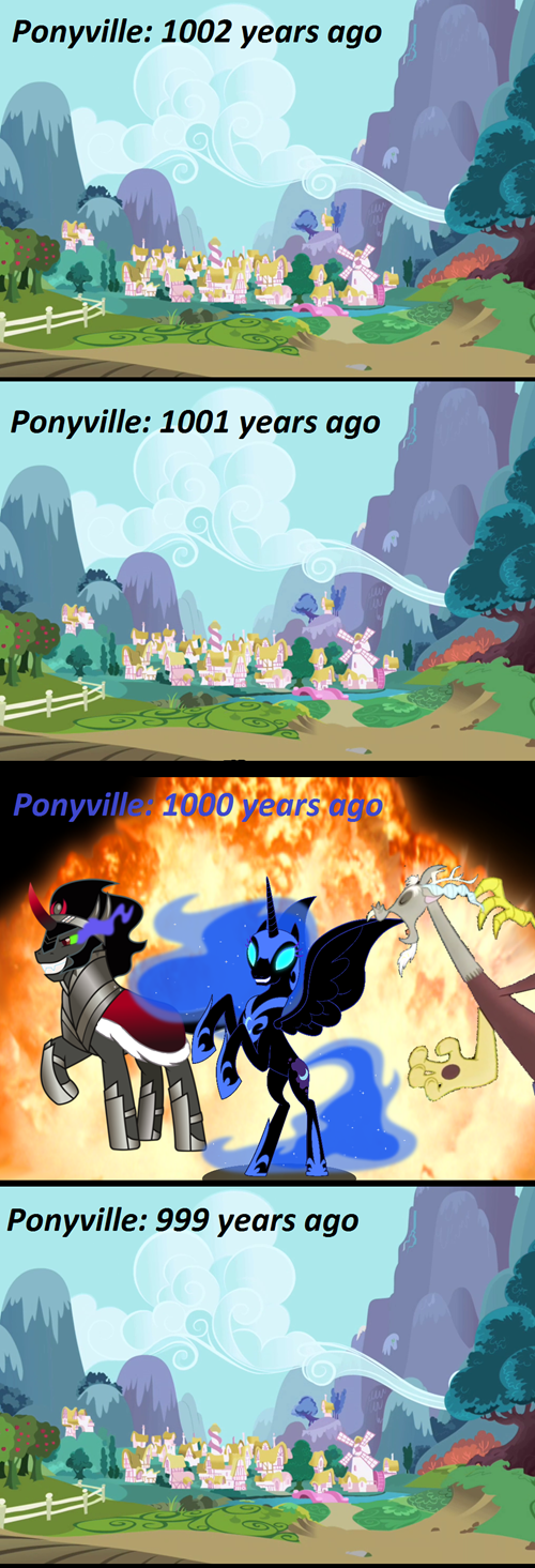 my little pony ponyville villains - 7638786816