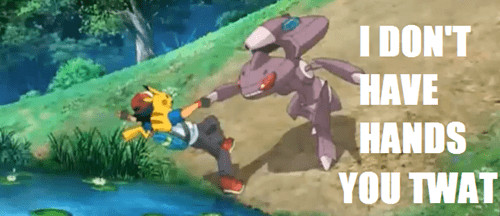 Pokémon anime captions genesect image macros - 7638937344