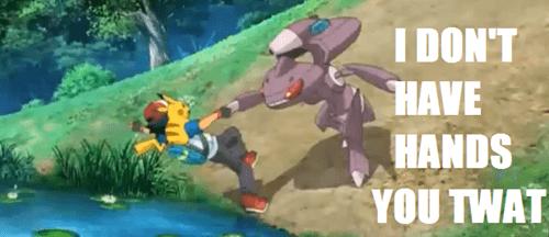 Pokémon anime captions genesect image macros - 7638937344