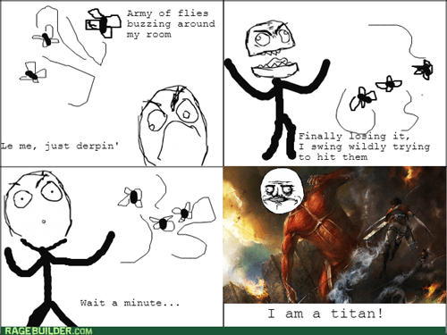 clash of the titans,me gusta,titan,flies