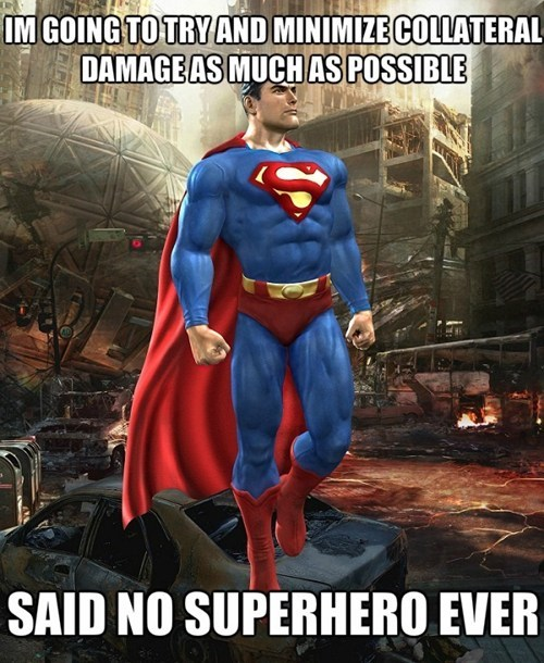 destruction funny superman - 7640288000