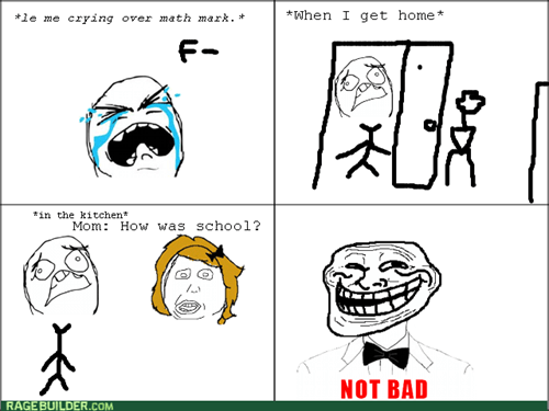 school,trolling,not bad,i lied,truancy story